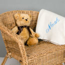 100% Pure Cashmere Personalised Baby Blanket