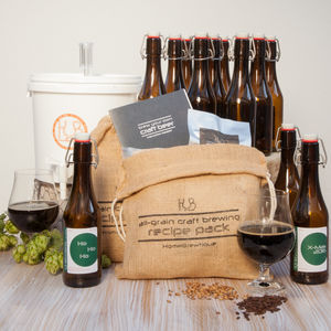 Craft Beer Brewing Winter Ale Kit - gifts for fathers
