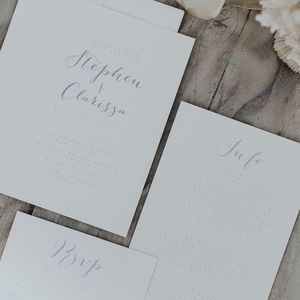 Bliss Wedding Invitation Set