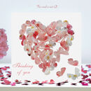 Butterfly Thinking Of You Card, Blossom Heart Card