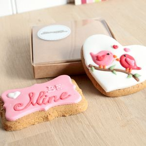 The Love Birds And Be Mine Cookies - cakes & sweet treats