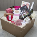 'Love You' Deluxe Hamper With Sparkling Wine