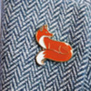 Quinn The Fox Pin
