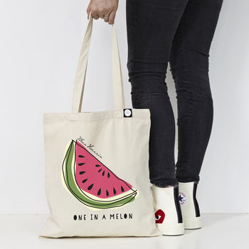 Personalised 'One In A Melon' Teacher Bag