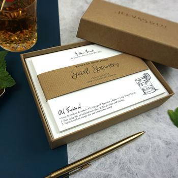 The Cocktail Collection Correspondence Cards