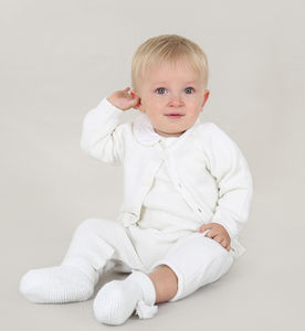 Baby Boy Four Piece Knitted Winter Christening Outfit
