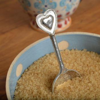 Heart Sugar Spoon, Anniversary Gifts