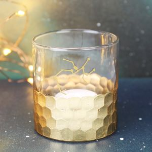 Hammered Constellation Candle Holder