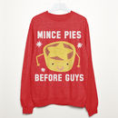 Mince Pies Before Guys Women's Christmas Sweatshirt