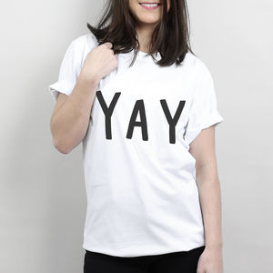 Yay T Shirt - men's fashion