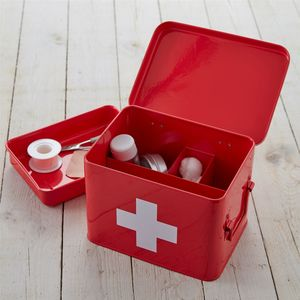 Metal First Aid Box - kitchen accessories