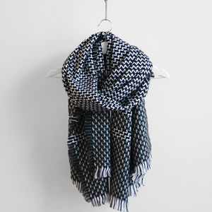 Tiny Zig Zag Shawl - accessories gifts for friends