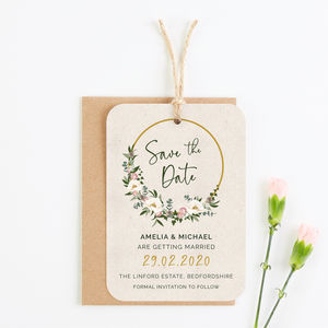Save The Date Cards | notonthehighstreet com
