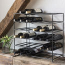 Wine Shelf For 30 Bottles