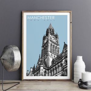 Manchester Print Town Hall