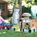 Fun Wooden Farm And Stable Toys