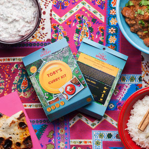 Personalised Curry Recipe Kit - make your own kits