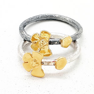 Cherry Blossom Missing Petal Ring