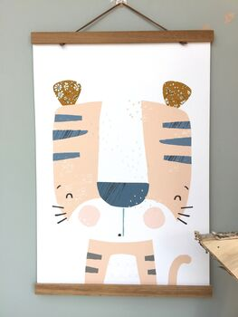 Liberty Tiger Nursery Print