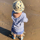 Blue Hammam Children's Robe