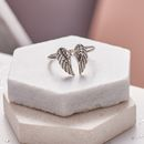 Heaven Sent Silver Angel Ring