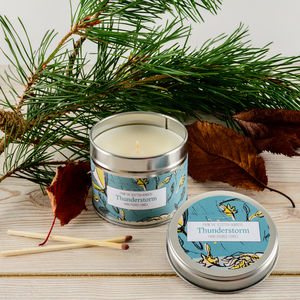 Thunderstorm Patchouli Scented Candle - candles & home fragrance