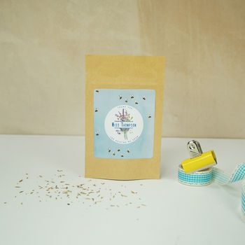 Personalised 'Wallpaper' Teacher's Gift Seed Pouches