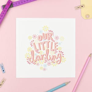 'Our Little Darling' Print