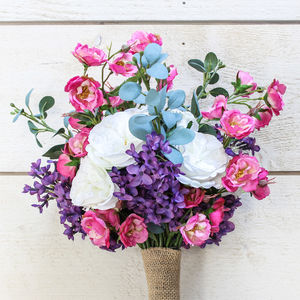 The Ruby Artificial Flower Bridal Bouquet - home accessories