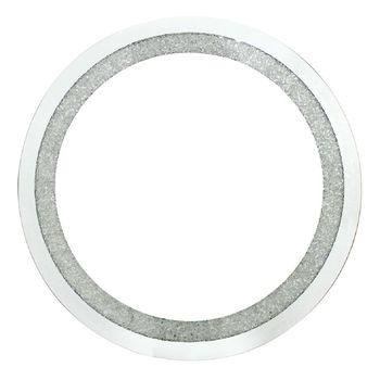 Circular Wall Mirror With Swarovski Crystals