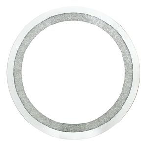 Circular Wall Mirror With Swarovski Crystals - decorative accessories