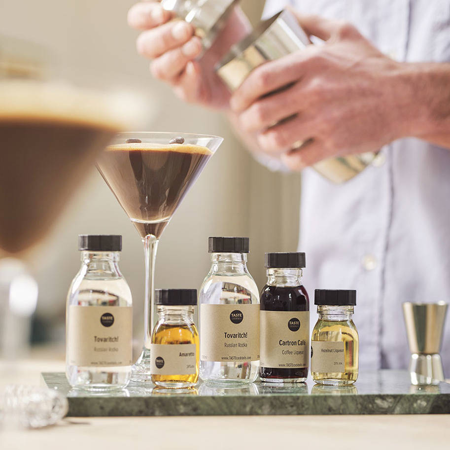 Espresso Martini Cocktail Kit By Taste Cocktails Notonthehighstreet Com