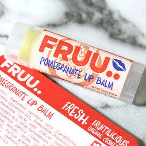Organic And Vegan Pomgranate Lip Balm