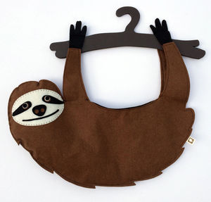Sloth Peg Bag - peg bags