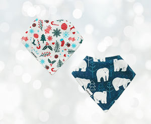 Christmas Bib Gift Set Bear Essentials