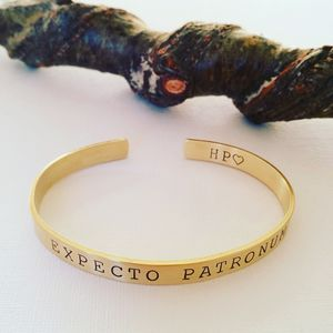 Expecto Patronum Bangle - bracelets & bangles