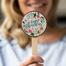 Floral 'Happy Birthday' Chocolate Lolly