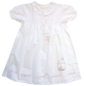 Cupcake Embroidered Nightie