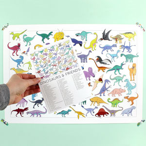 A2 Dinosaur Poster - animals & wildlife