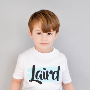 Personalised Name T Shirt - boy's t-shirts