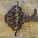 Potting Shed Vintage Key Iron Wall Hook