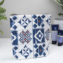 Marisol Large Wash Bag, Tall Toiletry Bag