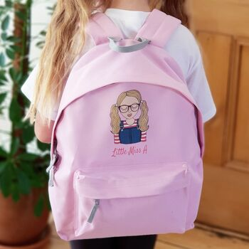 Personalised Create Your Own Little Miss Backpack