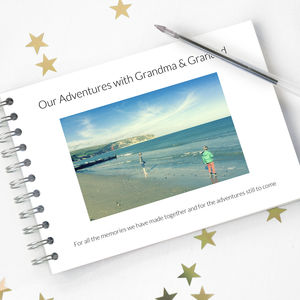 Personalised Grandparent Album - last-minute mother's day gifts