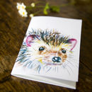 Inky Hedgehog Notebook