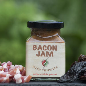 Slow Cooked Bacon Jam With Chipotle - gifts for men
