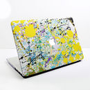 Colourful Paint Splat Design Case For Mac Book
