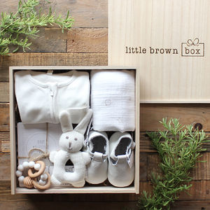 The Ultimate White Box - gifts for babies