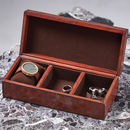 Personalised Leather Jewel Box