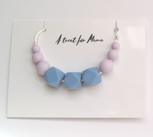 Pastel Teething Necklace For Mum And Baby